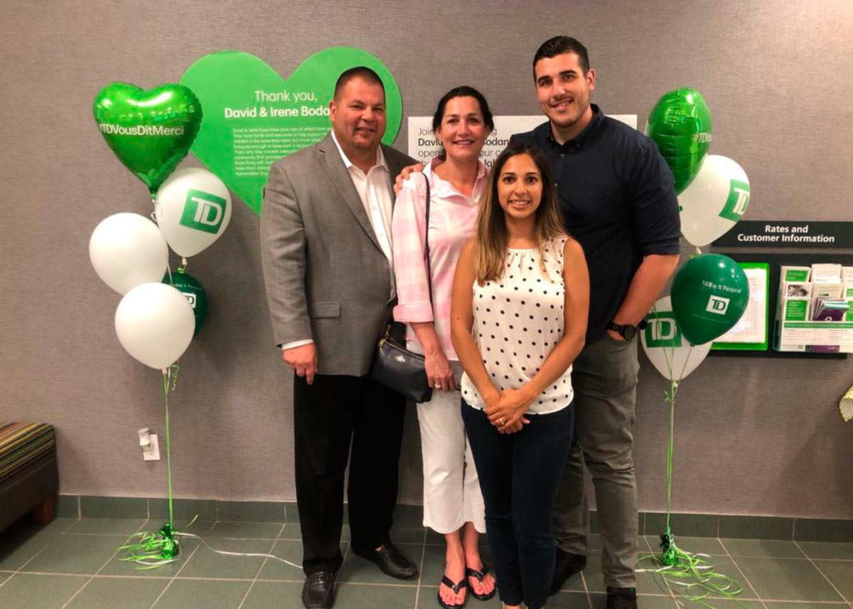 TD Names Founders Local Heroes - News & Blog | Jake's House