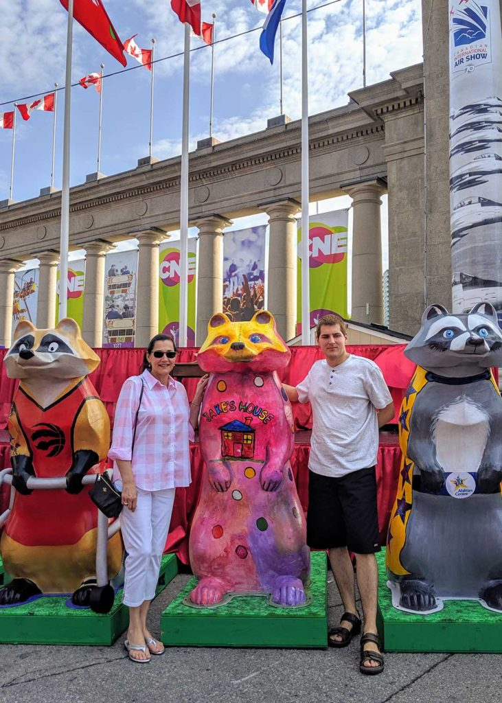 Jake's House team at the opening of 2019 CNE