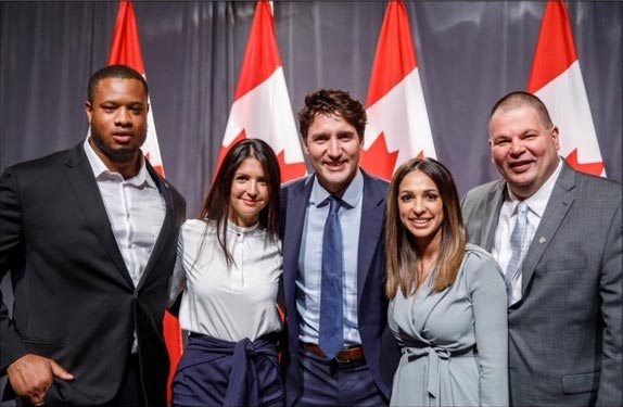Jake's House & Justin Trudeau