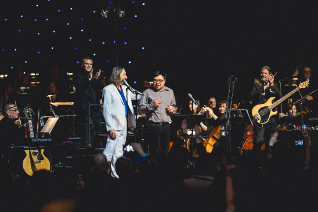 Ron Adea, 2019 Legend of Distinction, performing with Supertramp's Roger Hodgson for Jake's House and autism awareness on April 2nd, 2019