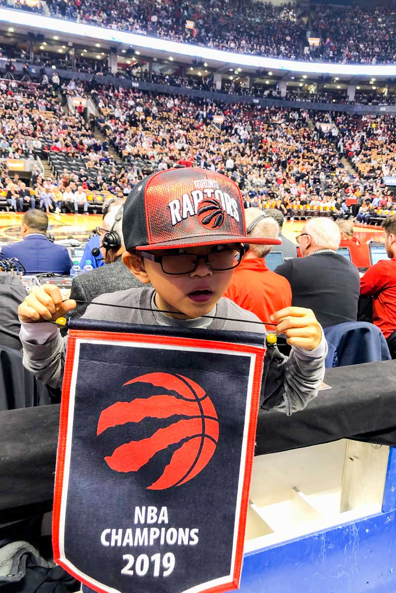Raptors Tickets Giveaway Winner